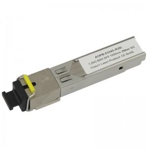 Moduł SFP WDM, SM SC, 20km, 1,25G, TX:1550nm, industrial (Base Link)