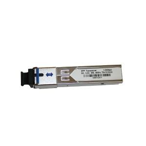 Moduł SFP WDM, SM SC, 80km, 1,25G, TX:1490nm (Base Link)