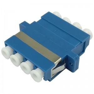 Adapter światłowodowy jednomodowy LC/PC Quad