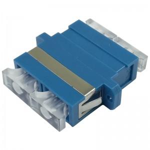 Adapter światłowodowy SC, jednomodowy, duplex