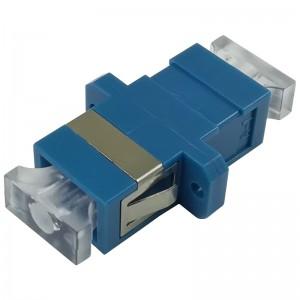 Adapter światłowodowy SC, jednomodowy, simplex