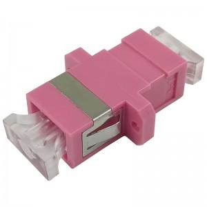 Adapter światłowodowy SC/PC MM simplex OM4