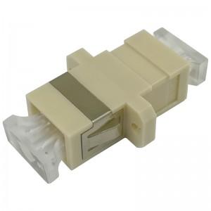 Adapter światłowodowy SC, wielomodowy, simplex