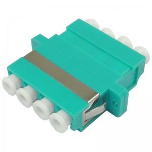 Adapter światłowodowy LC/PC MM quad OM3