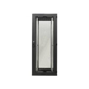 """Szafa rack 19"""" 42U 600x1200, stojąca, perforowana, czarna (BKT 11028693.1V2)"""