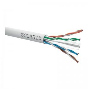 Kabel instalacyjny Solarix U/UTP kat.6 PVC (500m)