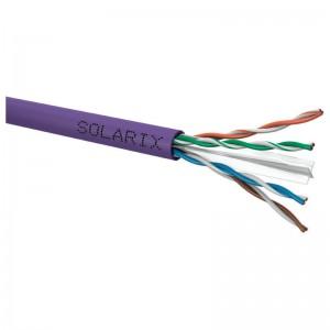 Kabel instalacyjny U/UTP kat.6 LSOH Eca, 305m (Solarix SXKD-6-UTP-LSOH)