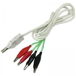 Kabel pomiarowy LSA/KRONE 4P, 4x krokodylki, 1.5m