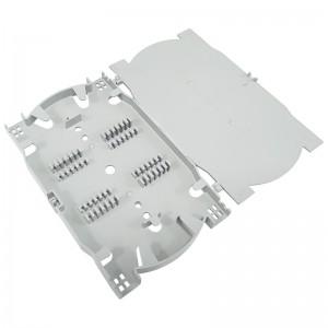 Kaseta światłowodowa na 24 spawy, szara (Base Link)
