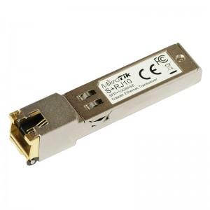 Moduł SFP+ RJ-45, 10/100/1000M/2.5G/5G/10G (Mikrotik S+RJ10)