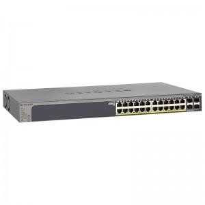 "Netgear GS728TP, 24xGE, 4xGE SFP, PoE 192W, 19"""