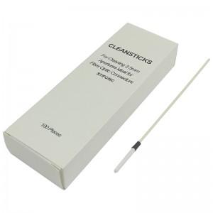 Pałeczki do czyszczenia adapterów światłowodowych 2,5mm (100szt.)