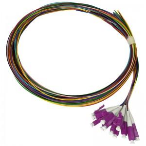 Pigtaile MM 12xLC/UPC 50/125, OM4, 12x2m