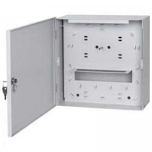 Przełącznica światłowodowa naścienna, 18x SC duplex / LC quad (Stalflex PSN30-18D-FTTX-GY)