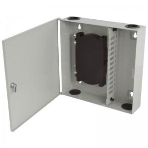 Przełącznica światłowodowa naścienna, 12x SC duplex / LC quad