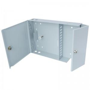 Przełącznica światłowodowa naścienna, dwudrzwiowa, 12x SC duplex / LC quad