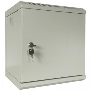 """Szafa rack 10"""" 6U 310x300, wisząca, metalowa, jednosekcyjna, szara"""