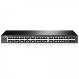 "TP-Link TL-T1600G-52TS (TL-SG2452), 44xGE, 4xFE/GE combo (RJ-45/SFP), 19"""