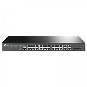 """Tp-Link T2500-28TC (TL-SL5428E), 24xFE, 4xGE (SFP/RJ-45), konsola, 19"""""""