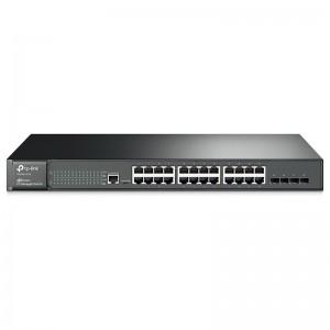 "TP-Link T2600G-28TS (TL-SG3424), 24xGE, 4xGE SFP, 19"""