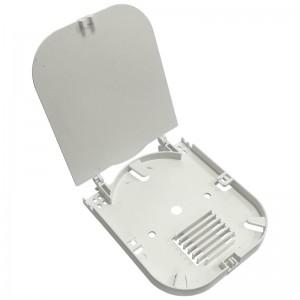 Kaseta światłowodowa na 12 spawów, szara (do muf BL-FSC-V3)