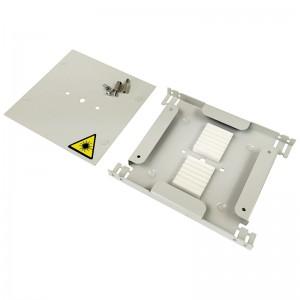 Tacka światłowodowa Q-Fiber DIN24 na 24 spawy, metalowa