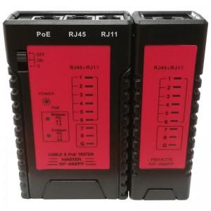 Tester okablowania RJ-11 / RJ-45 / PoE