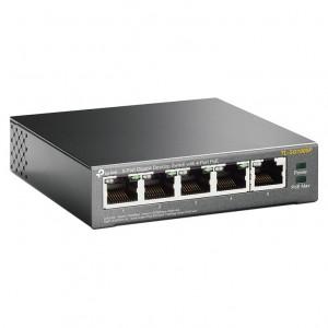 TP-Link TL-SG1005P, 5xGE, 4xPoE 56W, desktop