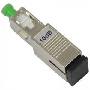 Tłumik optyczny SC/APC 10dB, typu adapterowego (Base Link)