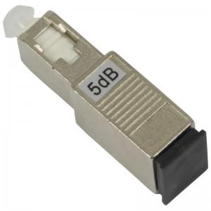 Tłumik optyczny SC/UPC 5dB, typu adapterowego (Base Link)