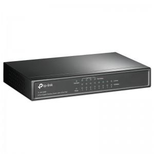 TP-Link TL-SG1008P, 8xGE, PoE 53W, desktop