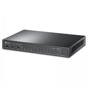 TP-Link TL-SL1311MP, 8xFE PoE+ 124W, 2xGE, 1xGE SFP, desktop
