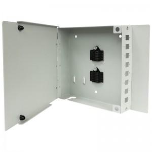 Przełącznica światłowodowa naścienna, 8x SC simplex / LC duplex