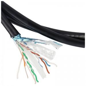 Kabel instalacyjny F/UTP kat.6 PVC, zewnętrzny, 305m (Extralink)