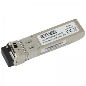 Moduł SFP+ WDM, SM LC, 20km, 10Gbps, TX:1270nm, DDM (Base Link)