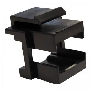 Adapter keystone SC simplex (SX), czarny