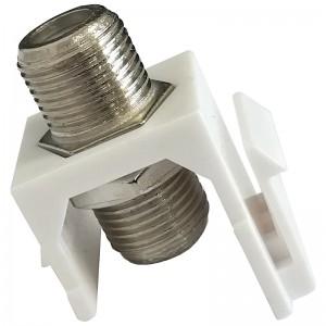 Adapter keystone z łącznikiem F