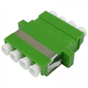 Adapter światłowodowy LC/APC SM quad