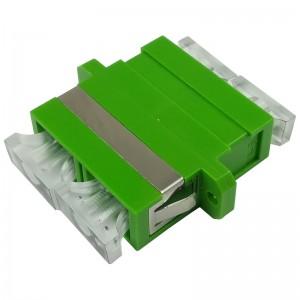 Adapter światłowodowy SC/APC, jednomodowy, duplex