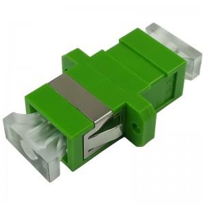 Adapter światłowodowy SC/APC, jednomodowy, simplex, ECO