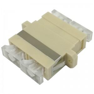 Adapter światłowodowy SC, wielomodowy, duplex