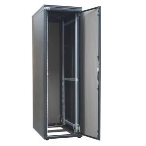 "Szafa rack 19"" 42U 600x1000, stojąca, perforowana, szara (ZPAS WZ-SZBSE-006-5711-1-011)"