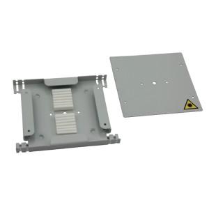 Tacka światłowodowa na 12 spawów, metalowa