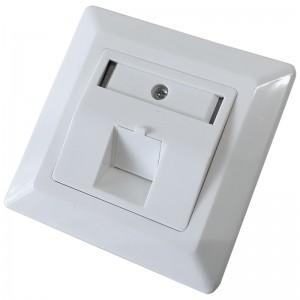 Gniazdo podtynkowe modularne, 1x keystone (Base Link)