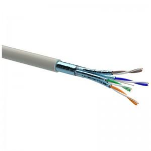 Kabel instalacyjny F/FTP kat.6a LSZH 500MHz, 500m (Extralink EX.16231)