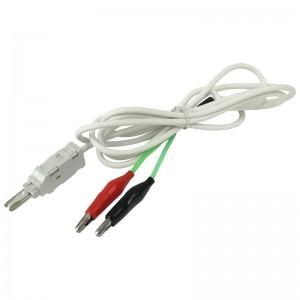Kabel pomiarowy LSA 2P, 2x krokodylki, 1.5m