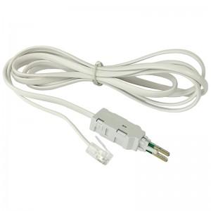 Kabel pomiarowy LSA/KRONE 4P, 1xRJ11 6p4c, 1.5m