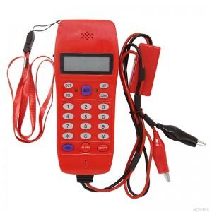 Telefon monterski z wyświetlaczem LCD (NF-866)
