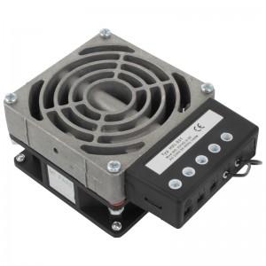 Ogrzewacz do szaf rack z wentylatorem, 100W (HVL031)