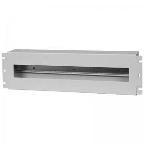 """Panel dystrybucji napięć 19"""" PS-3U, szary (Stalflex VDP19-3U-G)"""